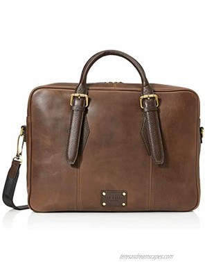 Ted Baker Men's REPTILA Document Bag Brown One Size