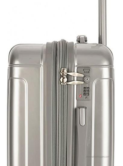 Gabbiano Genova 3 Piece Expandable Hardside Spinner Luggage Set
