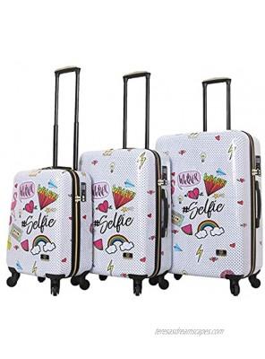 HALINA Nikki Chu Whatever 3 Piece Set Luggage Multicolor One Size