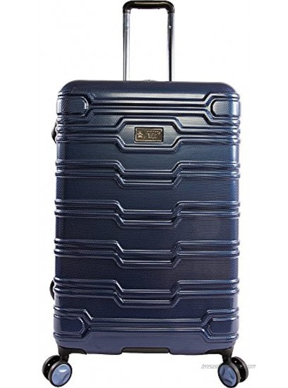 ORIGINAL PENGUIN Collins 3 Piece Set Expandable Suitcase with Spinner Wheels Black One Size