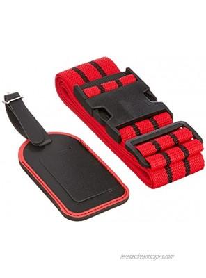 Sagaform Travel Set with Luggage Strap and Card Holder