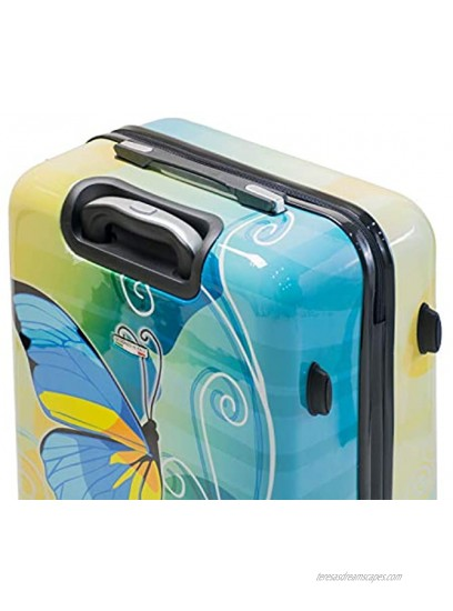 Viaggi Mia Italy Butterfly Hardside Spinner 3pc Set One Size