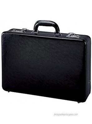 Alassio 41033 TAORMINA attache case briefcase leather black
