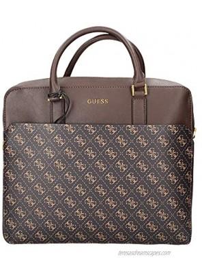 Borsa Guess cartella uomo Vezzola briefcase dark brown UBS21GU11 HMVEZLP1113