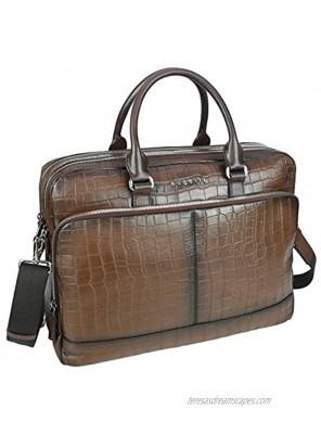 Bugatti Croco Briefcase 15? brown