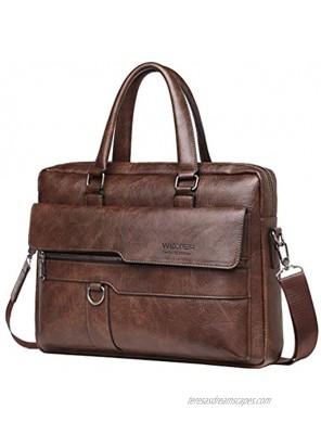 Business Briefcase Messenger Bag Handbag for Men Women Office Work Laptop Computer Crossbody Shoulder Travel Outdoor Daypack