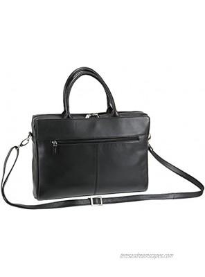 Visconti Ladies Leather Briefcase Organiser Shoulder Handbag 18427