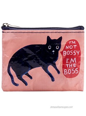 Blue Q Bags Coin Purse I'm Not Bossy I'm The Boss Multi-Colored One Size