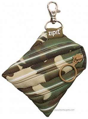 ZIPIT Camo Mini Pouch Coin Purse Green Camo