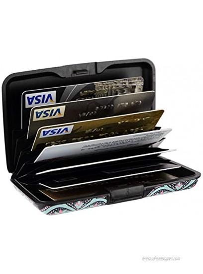 Aluminum Wallet RFID Blocking Slim Metal Credit Card Holder Hard Case