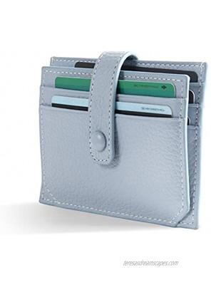 Card Holder wallet ALSWomen Small Pocket wallet for Credit Card Blue