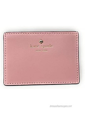 Kate Spade New York Small Card Case Holder Wallet Pale Pink