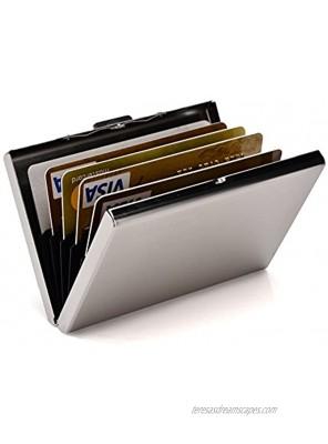 RFID Credit Card Holder Slim Card Wallet Metal ID Card Case Business Card Holder for Women or Men