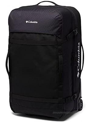 Columbia Mazama 75L Wheeled Travel Bag Black One Size