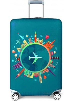 Luggage Protector Cover Suitcase Cover Protector Fit Most 22'' to 30'' Luggage perfect for travell Blue L