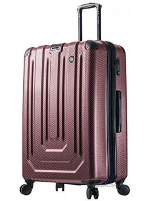 Mia Toro Italy Angolo Hardside 29 Inch Spinner Luggage,burgundy One Size