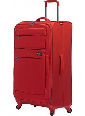 Mia Toro Italy Dolomiti Softside 28 Inch Spinner Luggage Red One Size
