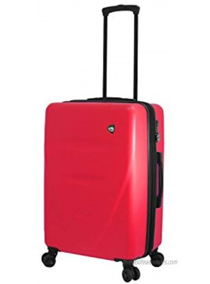 Mia Toro Italy Fassa Hardside 23 Inch Spinner Luggage Red One Size