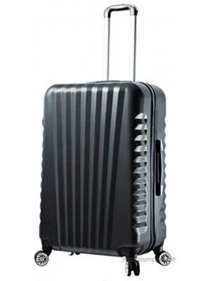 Mia Toro Mia Viaggi Italy Catania Hardside 28 Inch Spinner Black One Size