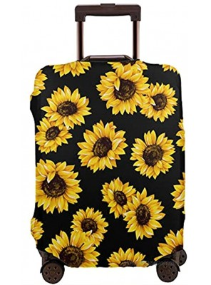 Travel Luggage Cover Lovely Sunflower Luggage Suitcase Protector Baggage Fit 18-21 Inch