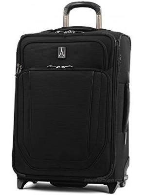 Travelpro Crew Versapack Softside Expandable Upright Luggage Jet Black Carry-On 21-Inch