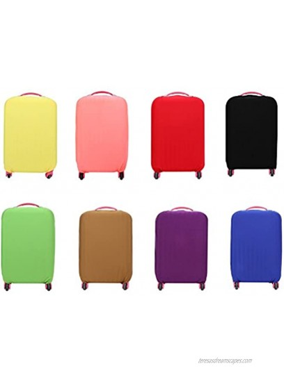 WINOMO Luggage Case Cover Elastic Travel Suitcase Cover for 22-24 Inches Red