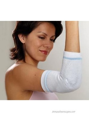 Albahealth 37000 Guardian Joint Protective Garment Padded Sleeve Heel Elbow Pair Large White Pack of 12