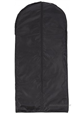 """Lewis N. Clark Travel Garment Bag Cover for Airplane Car Everyday Use-Heavy-Duty Lightweight Water-Resistant Perfect for Suits Dresses or Uniforms 47"""" Length Black One Size"""