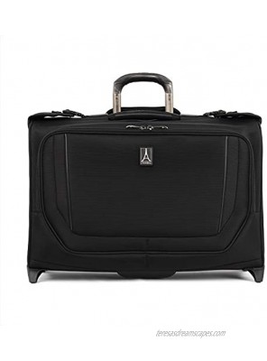 Travelpro Crew Versapack Carry-on Rolling Garment Bag Jet Black One Size