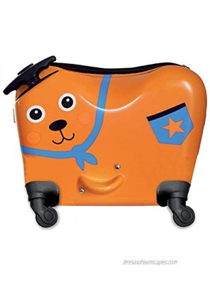 OOPS Ride-On Trolley Luggage Bag for Children with Versatile Pull Strap and Extendable Handle