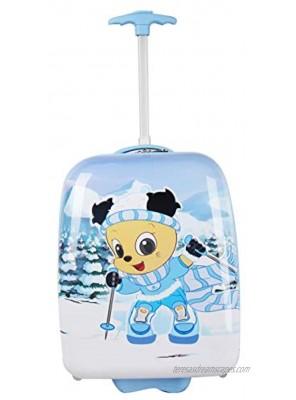 Shanmao Kids' Rolling Luggage 20 Upright Hard side Hard Shell shanmao skiing