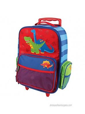 Stephen Joseph Classic Rolling Luggage Red Dino