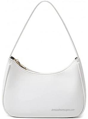 CYHTWSDJ Shoulder Bags for Women Cute Hobo Tote Handbag Mini Clutch Purse with Zipper Closure