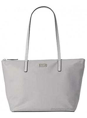 Kate Spade Hayden Top Zip Tote Nimbus Grey Shoulder Bag