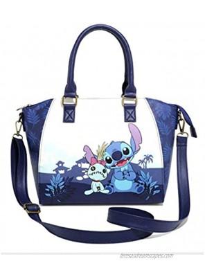 "Lilo and Stitch Bag Blue 10"" x 6"" x 12"""
