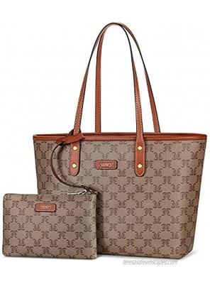 TIBES Women Satchel Handbags Purse Fashion Vegan Leather Tote for Ladies Vintage Shoulder Bag Top Handle Bags Large