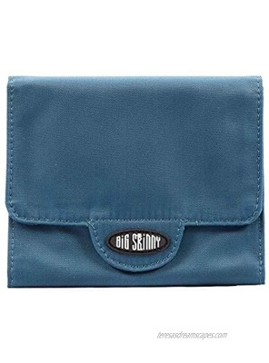 Big Skinny Women's Trixie Tri-Fold Slim Wallet Holds Up to 30 Cards