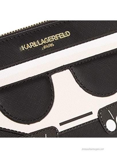 Karl Lagerfeld Paris Hermine Continental Zip Around Wallet